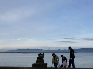 宍道湖ごみ拾い