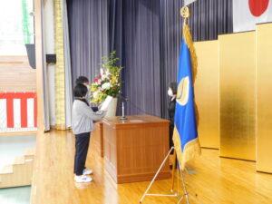 新入生代表宣誓